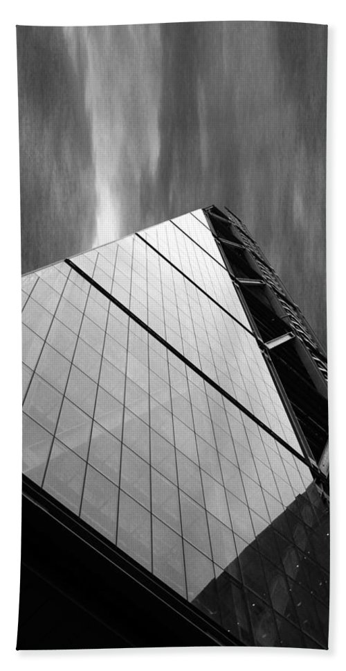 Tower Hand Towel featuring the photograph Sharp Angles by Martin Newman