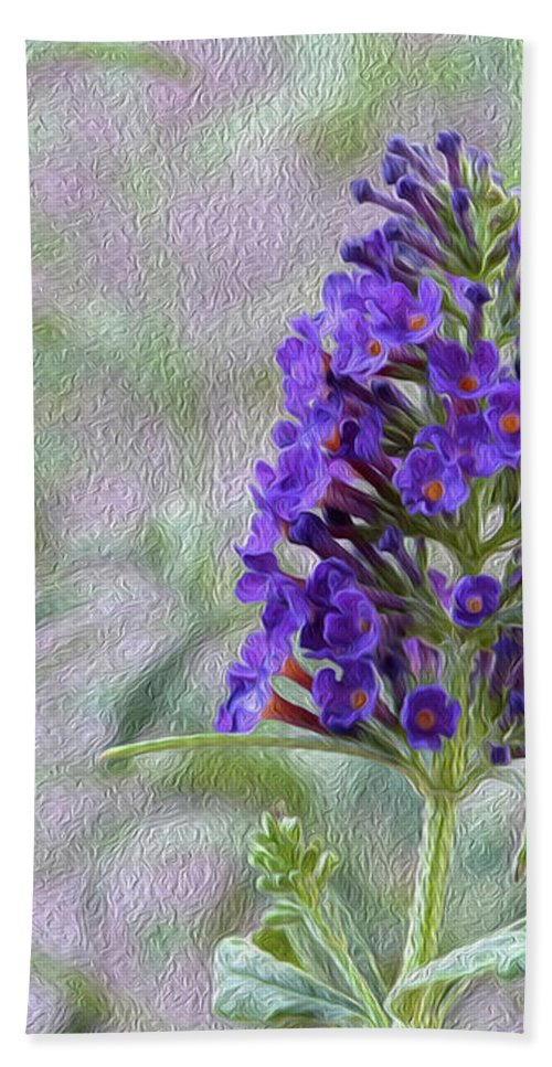 Floral Hand Towel featuring the photograph Sheer Joy by Tracie Fernandez