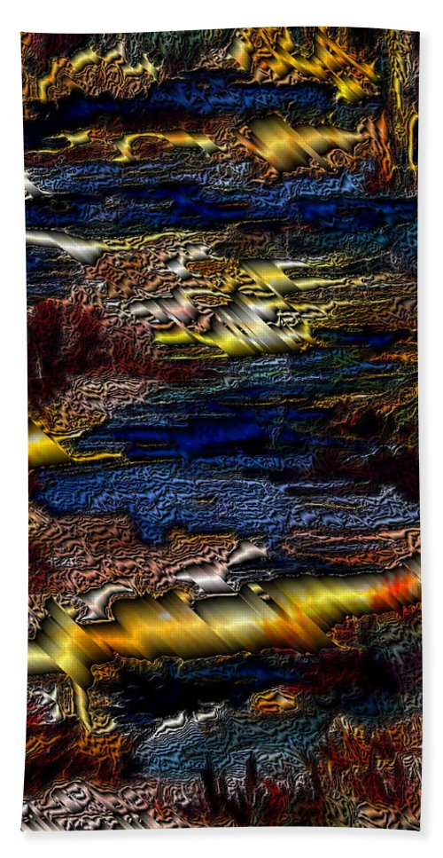Metal Reflections Bath Towel featuring the photograph Sheet Metal by Joanne Smoley