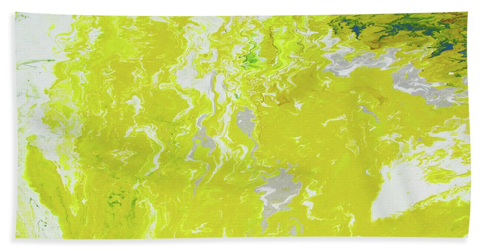 Fusionart Bath Sheet featuring the painting Shine by Ralph White