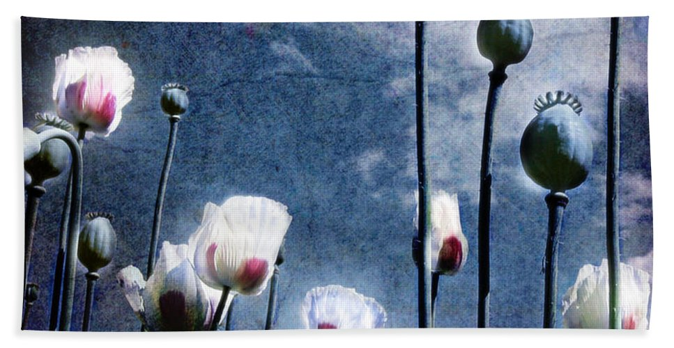 Flowers Bath Towel featuring the photograph Shine Through by Jacky Gerritsen