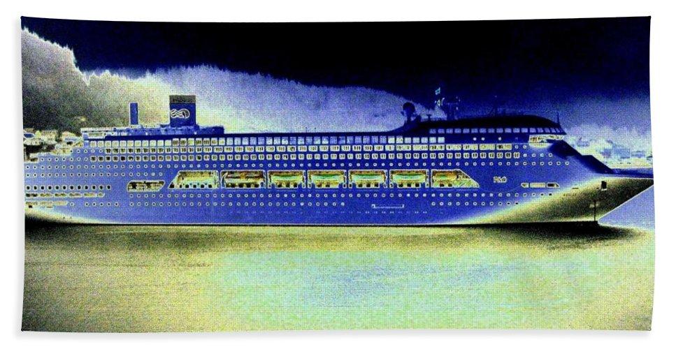 Ketchikan Bath Sheet featuring the digital art Shipshape 7 by Will Borden