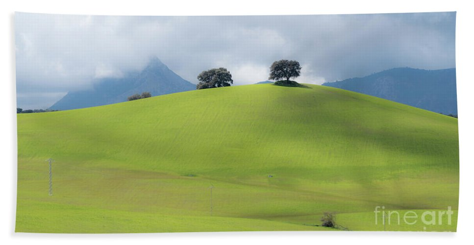 Sierra Hand Towel featuring the photograph Sierra Ronda, Andalucia Spain 3 by Perry Rodriguez