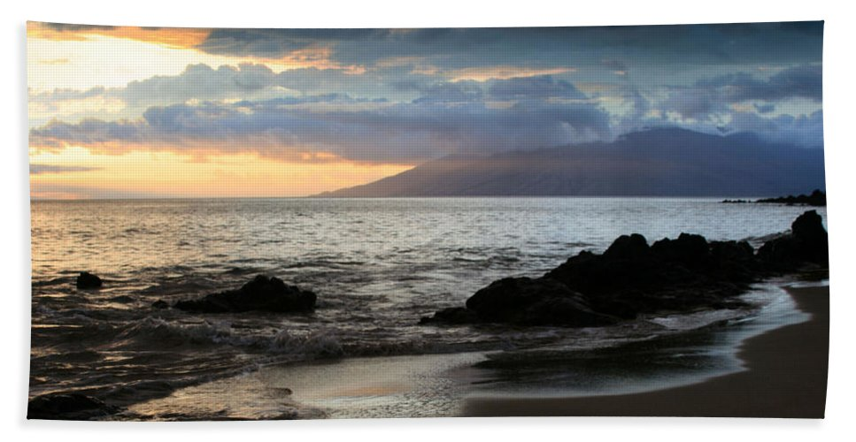 Aloha Hand Towel featuring the photograph Silence Of Devotion by Sharon Mau