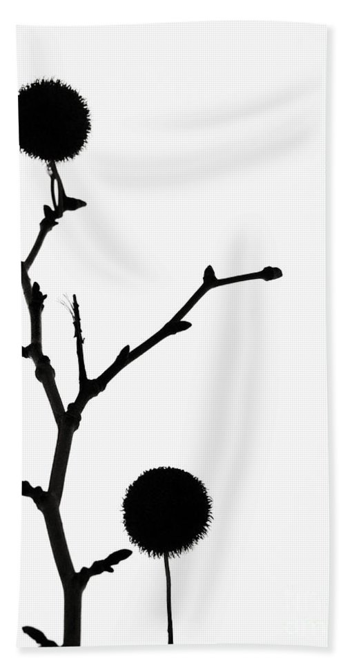 Simple Hand Towel featuring the photograph Simple Silhouette 3 by Tara Turner