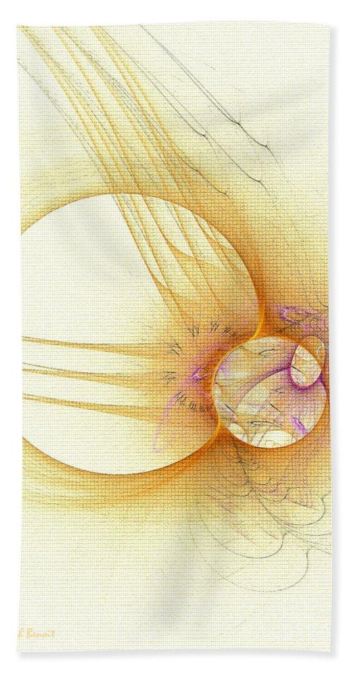Texture Bath Sheet featuring the digital art Simple With Texture by Deborah Benoit