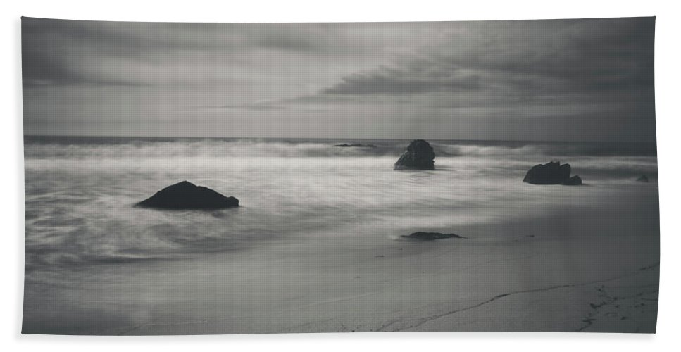 Garrapata State Park Bath Towel featuring the photograph Since Our Last Goodbye by Laurie Search