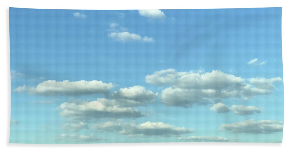 Clouds Hand Towel featuring the photograph Skies by Theodore Johns