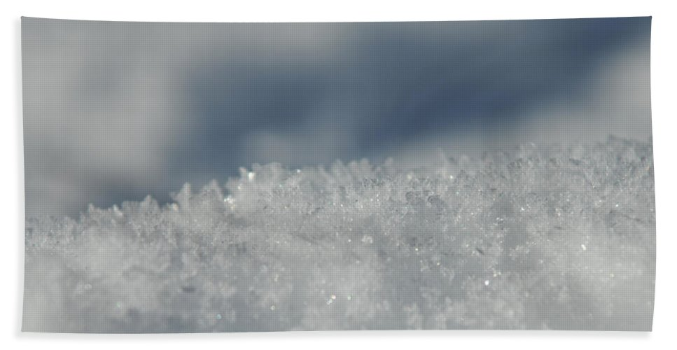 Ice Bath Sheet featuring the photograph Sky And Ice by Donna Blackhall
