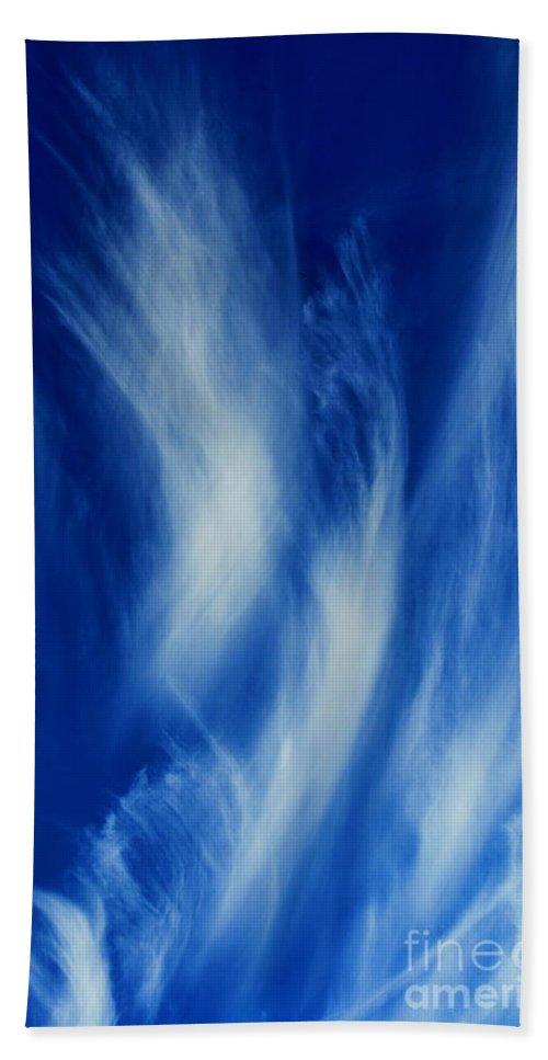Clay Hand Towel featuring the photograph Sky Sculpting by Clayton Bruster