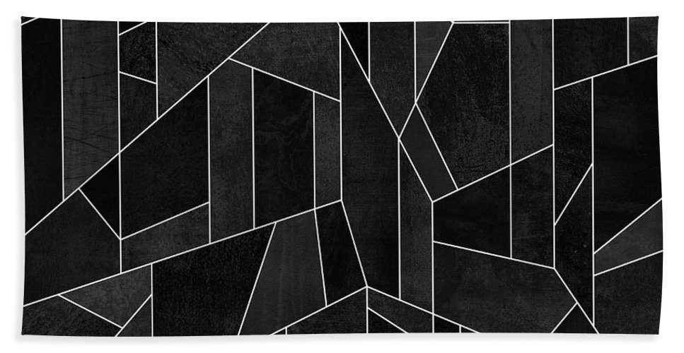 Graphic Hand Towel featuring the digital art Skyscraper 2 by Elisabeth Fredriksson