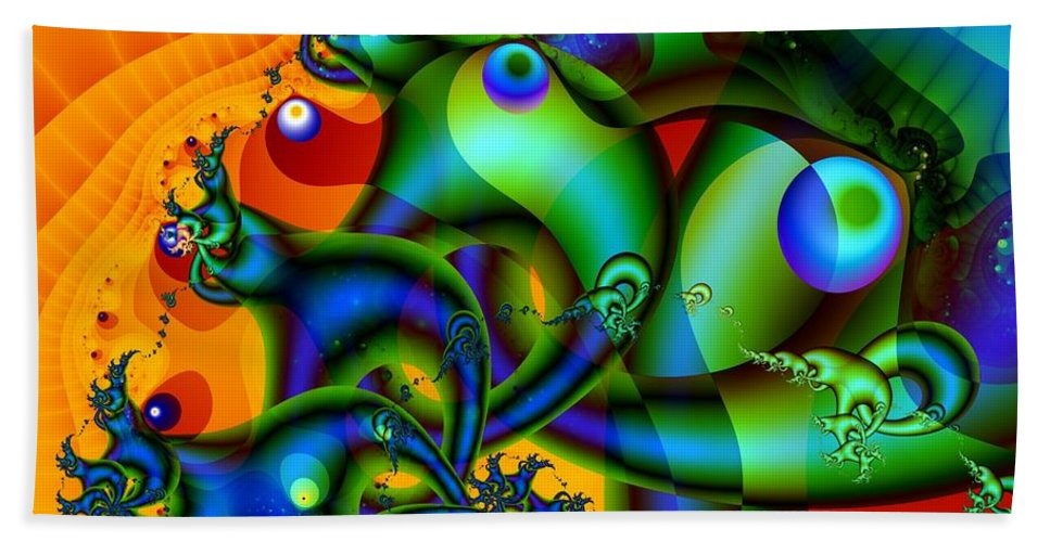 Slugs Hand Towel featuring the digital art Sluggish by Ron Bissett