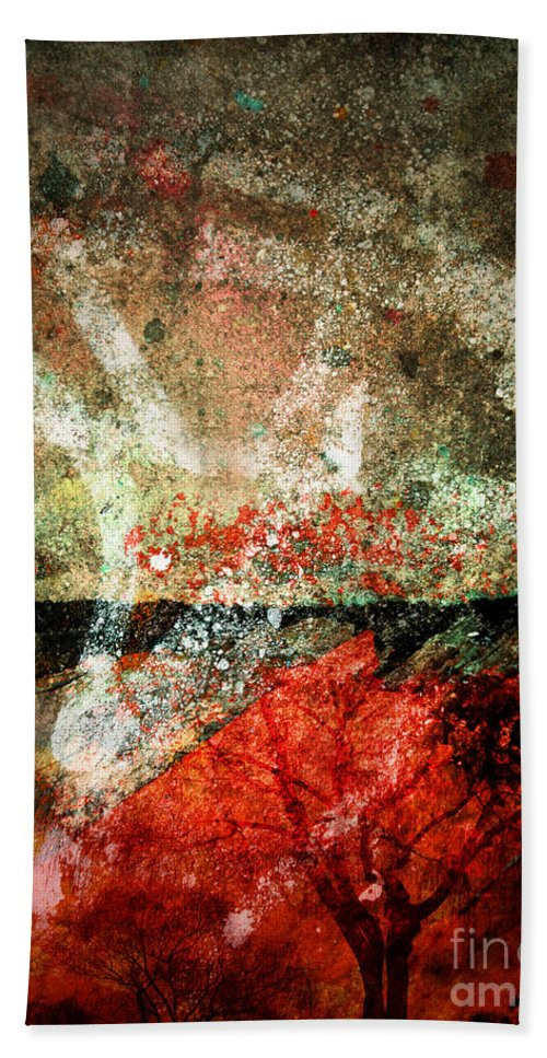 Concrete Hand Towel featuring the photograph Small Truths by Tara Turner