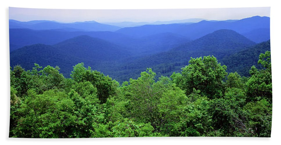 Photography Bath Sheet featuring the photograph Smoky Mountain National Park by Panoramic Images