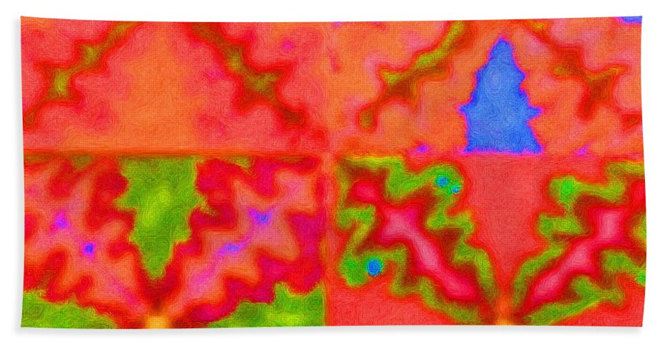 Snake Hand Towel featuring the digital art Snakey by April Patterson