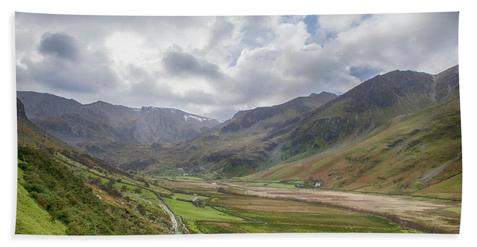 Snowdonia Bath Sheet featuring the photograph Snowdonia by Debbie Deboo