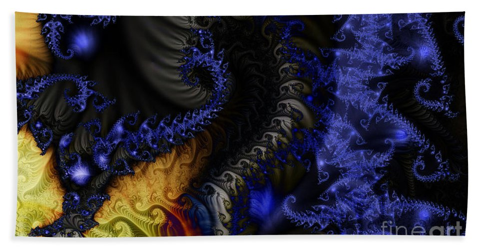 Clay Bath Towel featuring the digital art Social Classes by Clayton Bruster