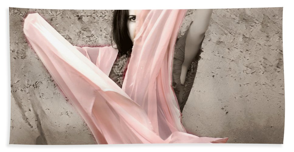 Clay Bath Towel featuring the photograph Soft And Sensual by Clayton Bruster