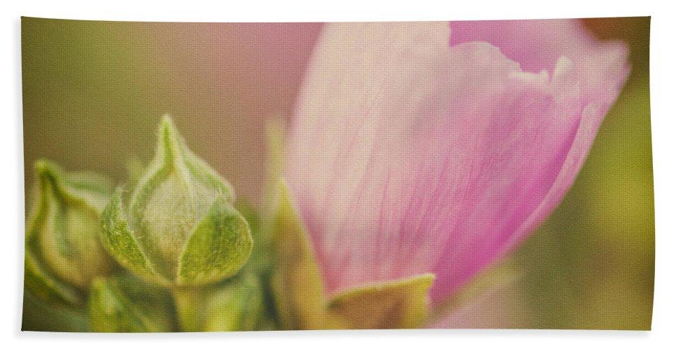Flower Hand Towel featuring the photograph Soft Pink Flower by Martin Belan