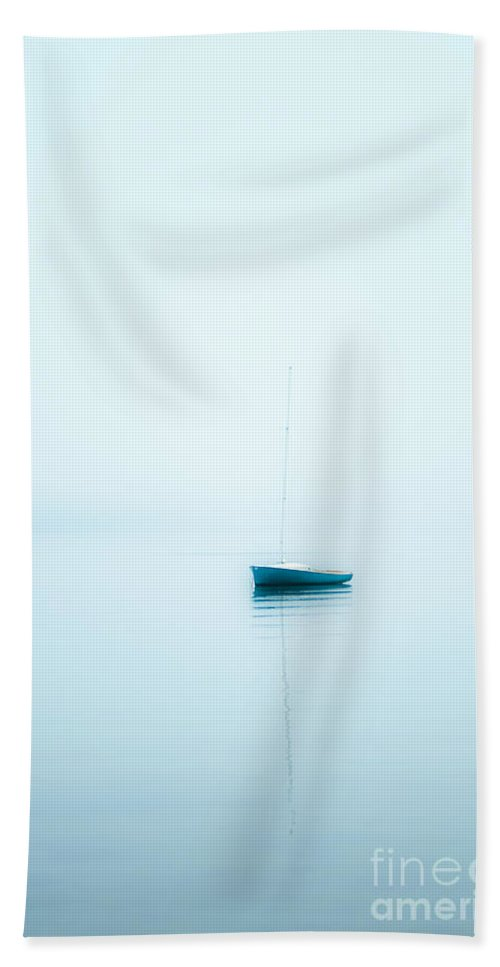 Cape Cod Hand Towel featuring the photograph Soft Sail by John Greim
