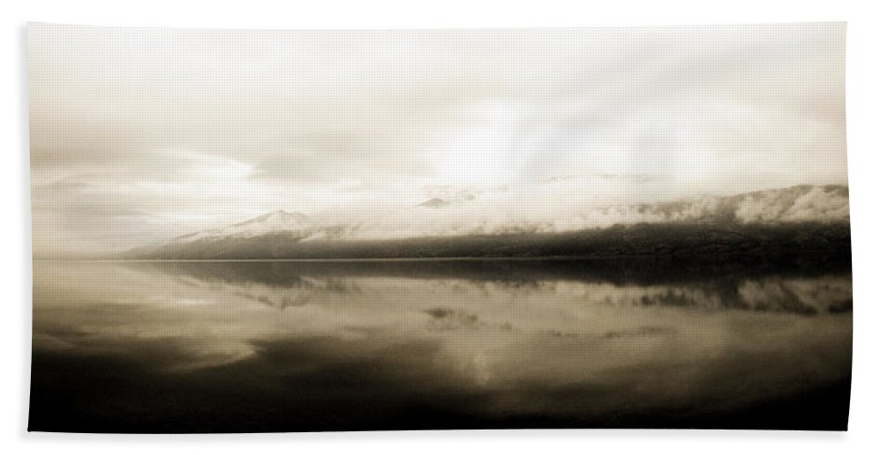 Mountain Bath Sheet featuring the photograph Solace by Trance Blackman