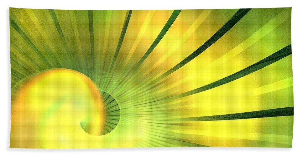 Apophysis Bath Sheet featuring the digital art Solstice by Kim Sy Ok