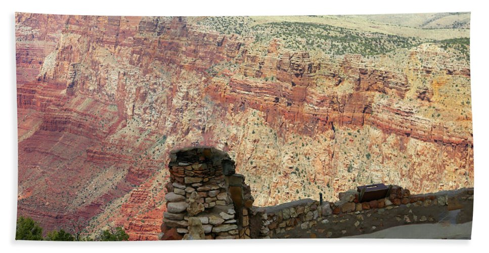 Grand Canyon Hand Towel featuring the photograph South Rim Grand Canyon by Chuck Kuhn