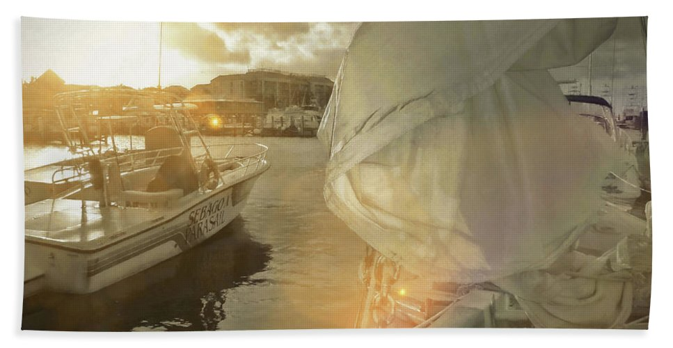 Miami Bath Sheet featuring the photograph Southern Winds by JAMART Photography