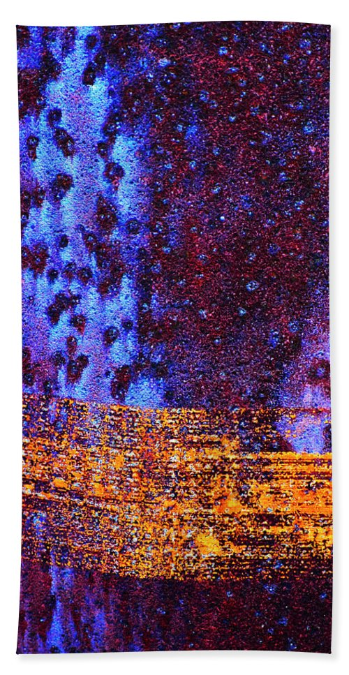 Abstract Bath Sheet featuring the photograph Space Time Continuum by Skip Hunt