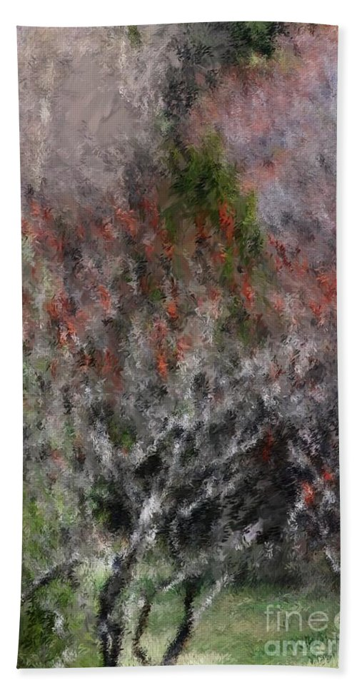 Spring Hand Towel featuring the photograph Spring At The Hacienda by David Lane