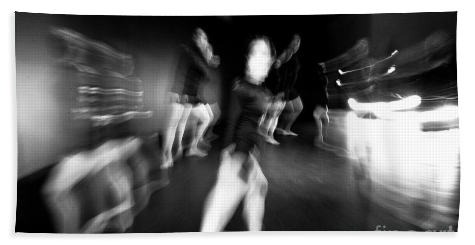 Moden Dance Hand Towel featuring the photograph Stage Zoom - 1 by Scott Sawyer