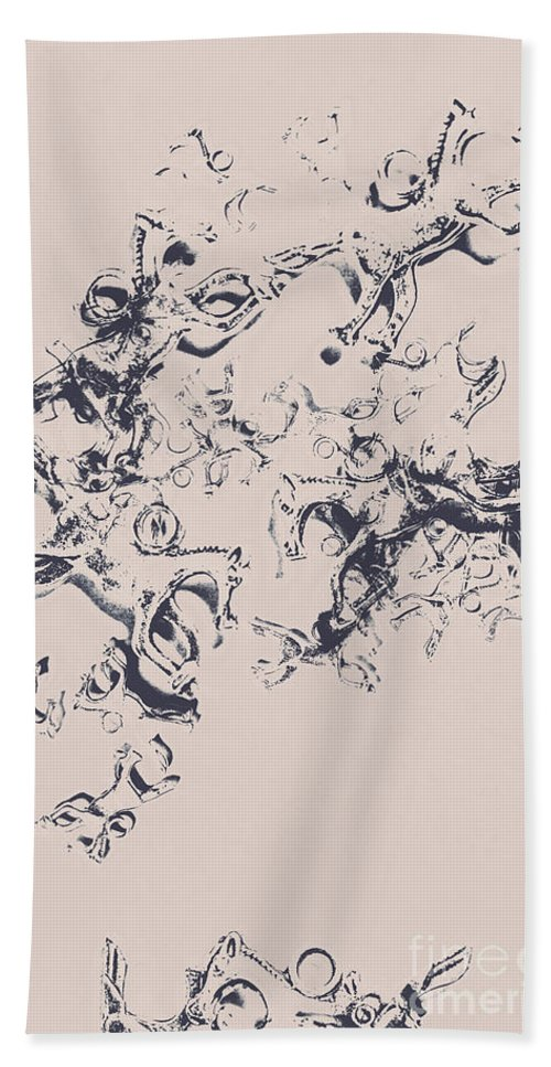 Art Bath Towel featuring the photograph Stallions Inc. by Jorgo Photography - Wall Art Gallery