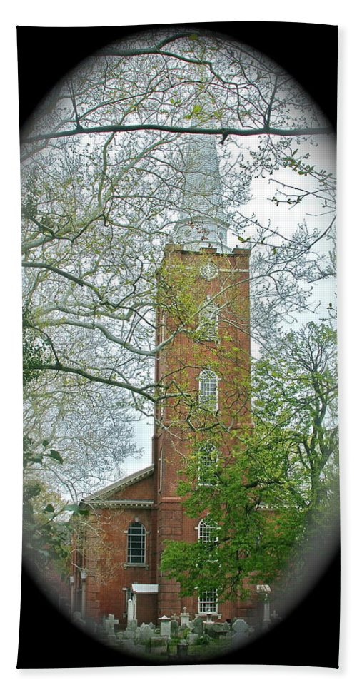 Church Bath Towel featuring the photograph Steeple by Rick Monyahan