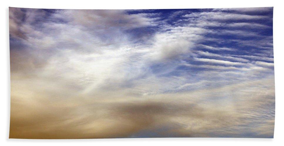 Heaven Bath Sheet featuring the photograph Steps To Heaven by Munir Alawi