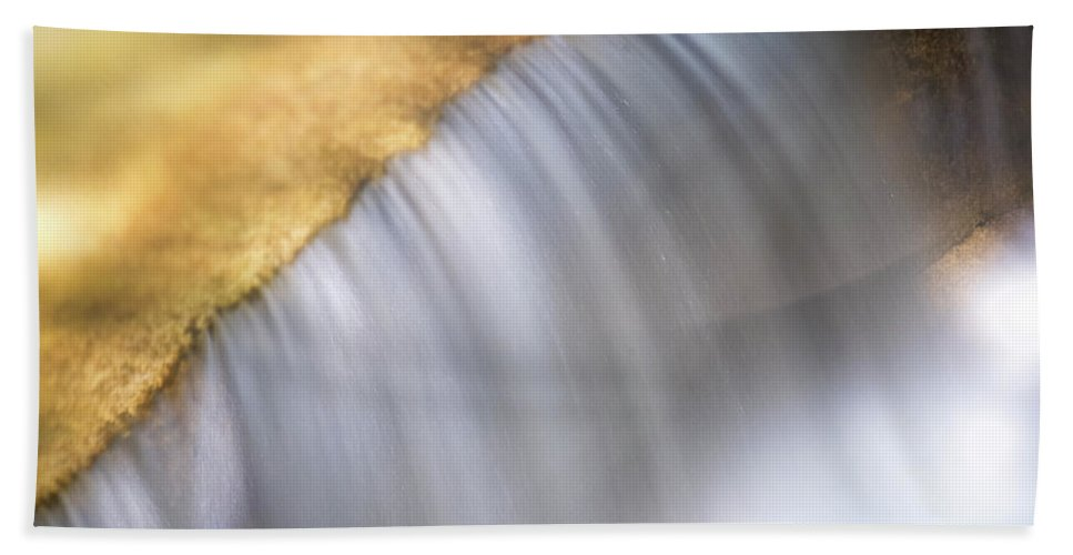Stickney Brook Hand Towel featuring the photograph Stickney Brook In Spring by Tom Singleton