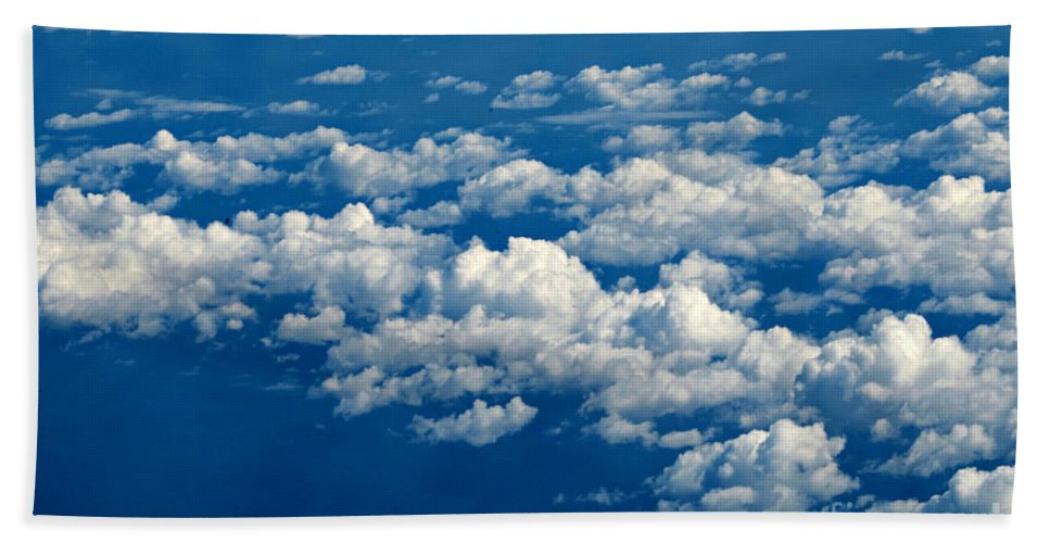 Clouds Bath Sheet featuring the photograph Still Riding The Clouds 3 by F Schiele