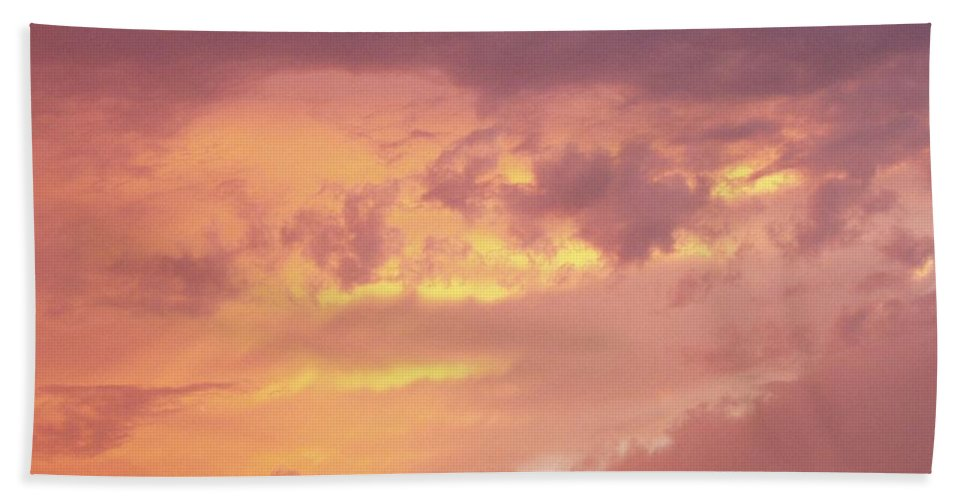 Clouds Bath Sheet featuring the photograph Storm Clouds by Deborah Crew-Johnson