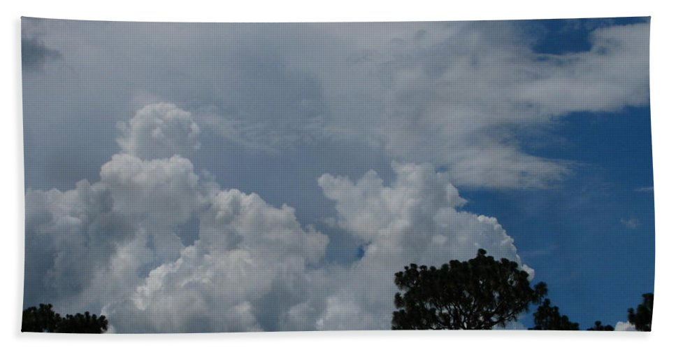 Patzer Hand Towel featuring the photograph Storm Moving In by Greg Patzer