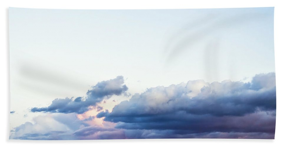 Beach Hand Towel featuring the photograph Storm by Svetlana Sewell