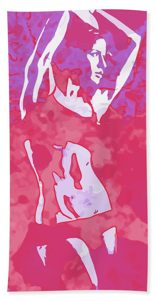 Woman Hand Towel featuring the digital art Strong Women 3 by John Novis