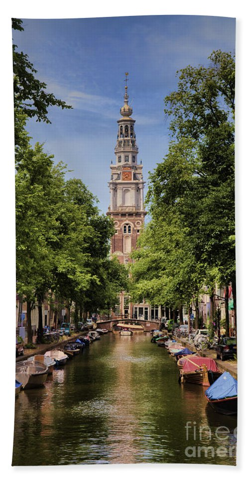 Hand Towel featuring the photograph Summer In Amsterdam-2 by Casper Cammeraat