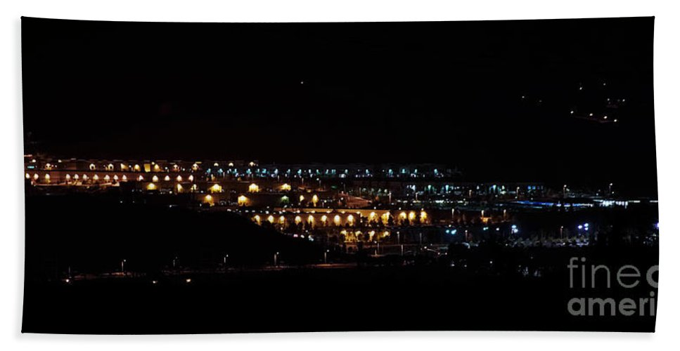 Clay Bath Towel featuring the photograph Summer Nights by Clayton Bruster