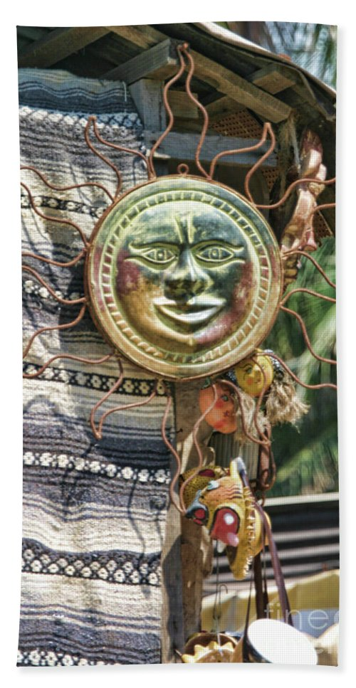 Mexico Hand Towel featuring the photograph Sun Power Puerto Vallarta by Chuck Kuhn