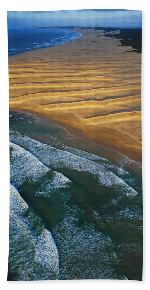 Coast Hand Towel featuring the photograph Sun Rise Coast by Skip Hunt