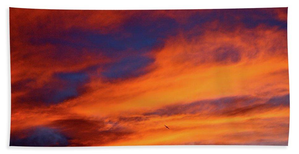 Sun Bath Sheet featuring the photograph Sunday Sunrise by Diana Hatcher