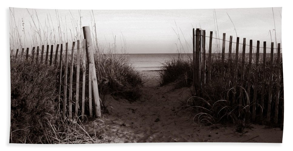 Beach Bath Sheet featuring the photograph Sunrise At Myrtle Beach Sc by Susanne Van Hulst