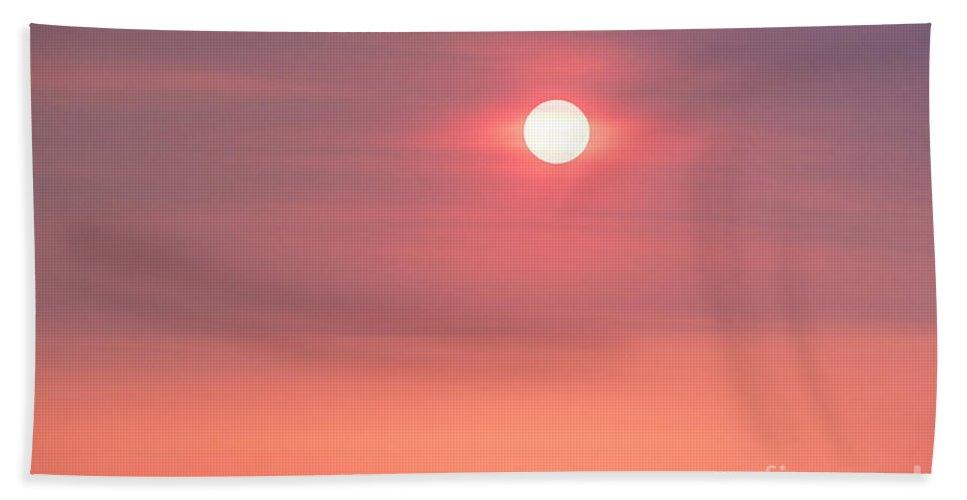 Natanson Bath Sheet featuring the photograph Sunrise Cerrillos by Steven Natanson