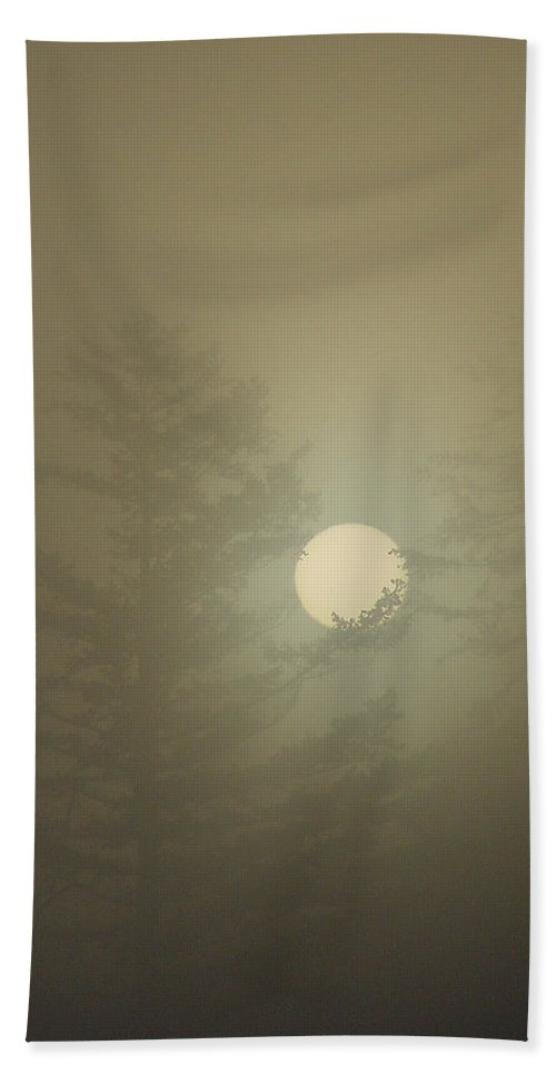 Sun Hand Towel featuring the photograph Sunrise Fogged - 2 by Shirley Heyn