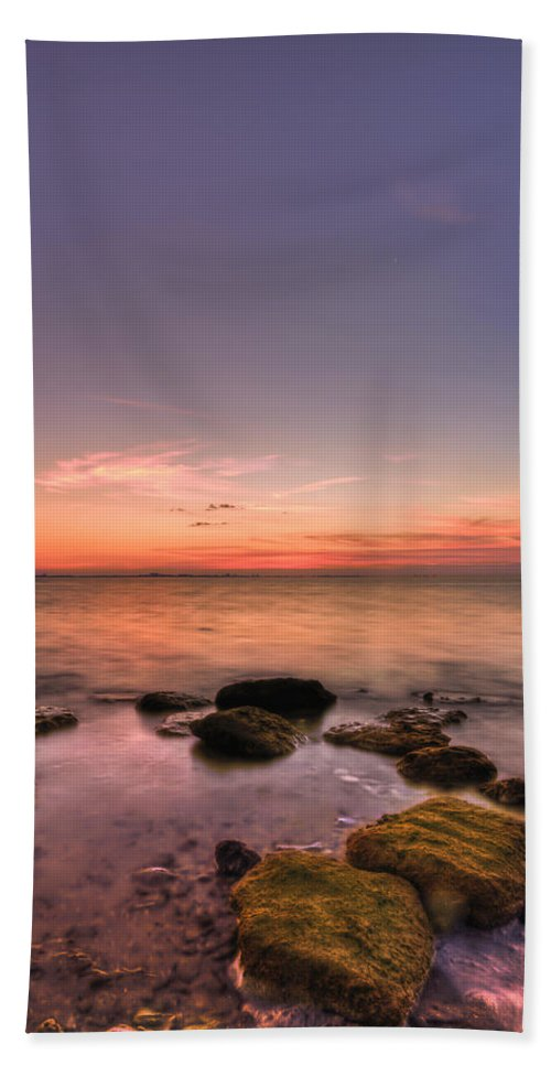 Florida Hand Towel featuring the photograph Sunrise Wisp by Evelina Kremsdorf