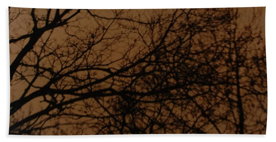 Landscape Hand Towel featuring the photograph Sunset Winter by Rob Hans